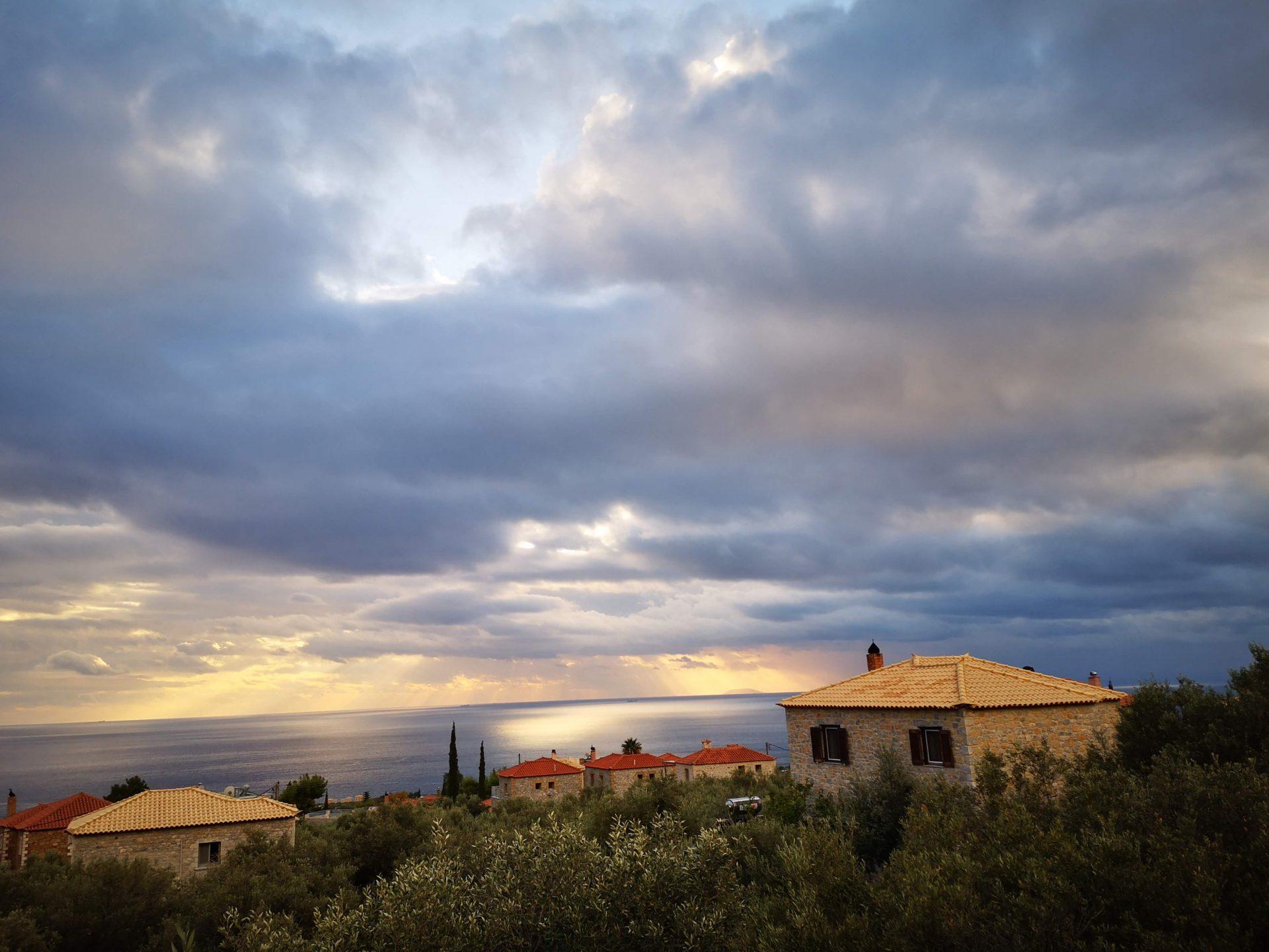 Sunset Stoupa Greece